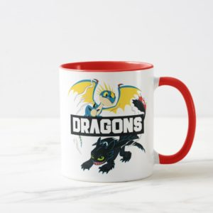 "Stormfly & Toothless ""Dragons"" Graphic Mug"