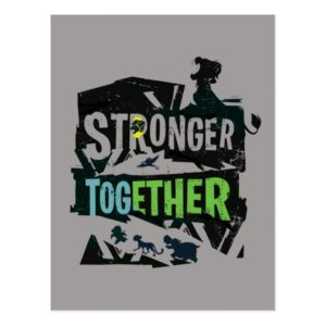 Stronger Together Lion Guard Graphic Postcard