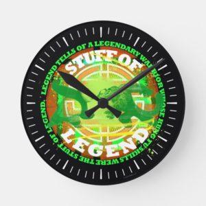 Stuff of Legend Round Clock