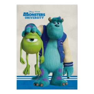 Sulley Holding Mike Poster