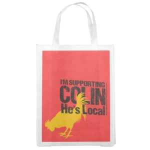 Supporting Colin Grocery Bag