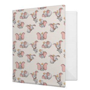 Sweet Dumbo Pattern 3 Ring Binder