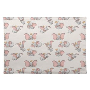 Sweet Dumbo Pattern Cloth Placemat