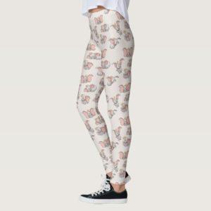 Sweet Dumbo Pattern Leggings