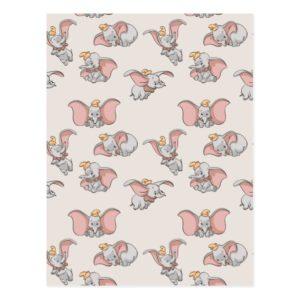 Sweet Dumbo Pattern Postcard