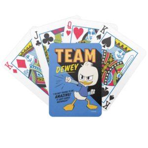 Team Dewey Bicycle Playing Cards