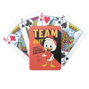 Team Huey Bicycle Playing Cards