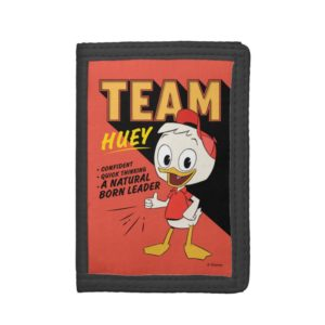 Team Huey Trifold Wallet