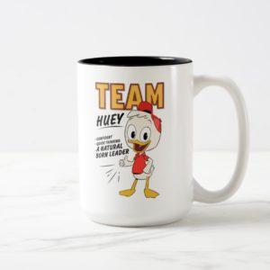 Team Huey Two-Tone Coffee Mug