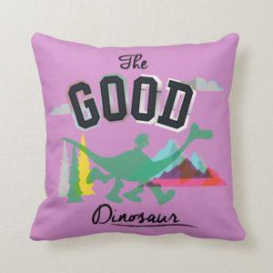 The Good Dinosaur Spot And Arlo Throw Pillow
