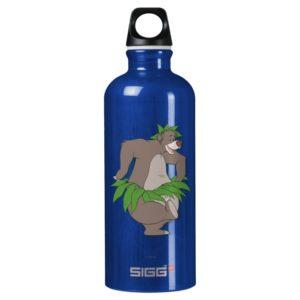 The Jungle Book Baloo with Grass Skirt Aluminum Water Bottle