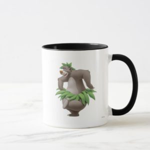 The Jungle Book Baloo with Grass Skirt Disney Mug
