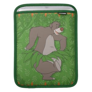 The Jungle Book Baloo with Grass Skirt iPad Sleeve