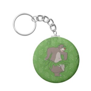 The Jungle Book Baloo with Grass Skirt Keychain