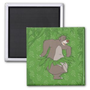 The Jungle Book Baloo with Grass Skirt Magnet