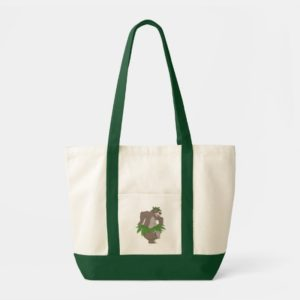 The Jungle Book Baloo with Grass Skirt Tote Bag