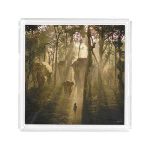 The Jungle Book Elephants Acrylic Tray