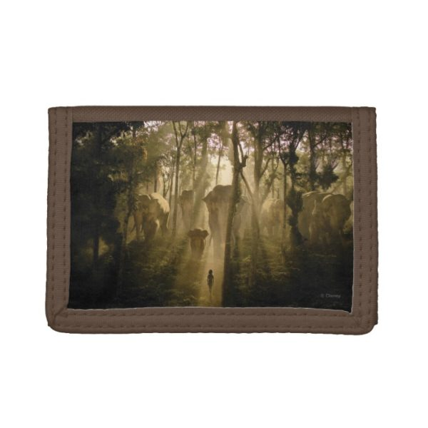 The Jungle Book Elephants Trifold Wallet