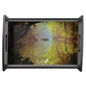 The Jungle Book   Laid Back Poster Serving Tray