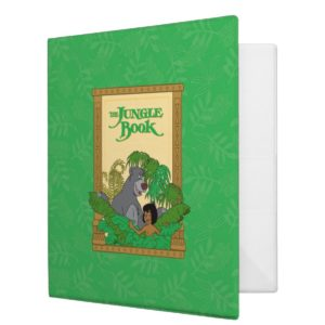 The Jungle Book - Mowgli and Baloo 3 Ring Binder
