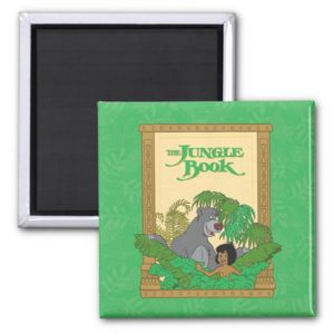 The Jungle Book - Mowgli and Baloo Magnet