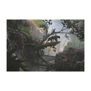 The Jungle Book   Mystery of the Jungle Canvas Print