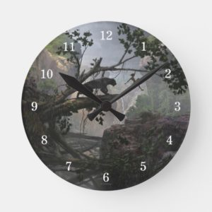 The Jungle Book | Mystery of the Jungle Round Clock