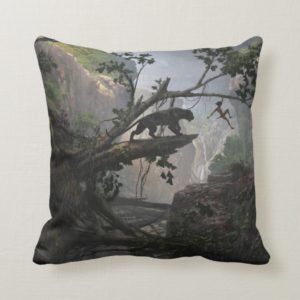 The Jungle Book | Mystery of the Jungle Throw Pillow