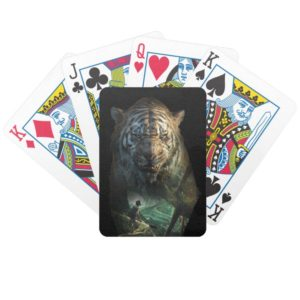 The Jungle Book   Shere Khan & Mowgli Bicycle Playing Cards