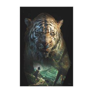 The Jungle Book | Shere Khan & Mowgli Canvas Print