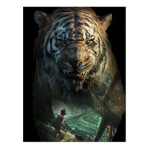 The Jungle Book | Shere Khan & Mowgli Postcard