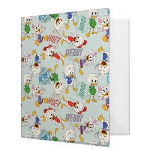 The Kids are Back in Town Pattern 3 Ring Binder
