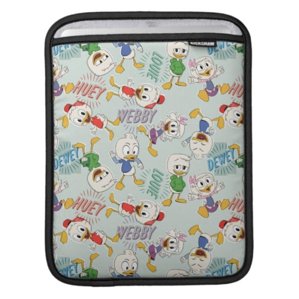 The Kids are Back in Town Pattern iPad Sleeve