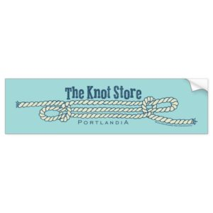 The Knot Store Bumper Sticker
