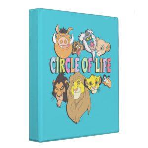 The Lion King | Circle of Life 3 Ring Binder