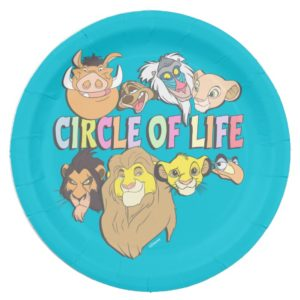 The Lion King | Circle of Life Paper Plate