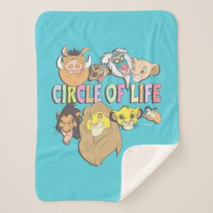 The Lion King | Circle of Life Sherpa Blanket
