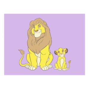 The Lion King | Mighty Kings Postcard