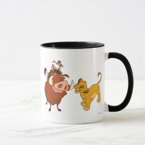 The Lion King Simba and Timon Disney Mug