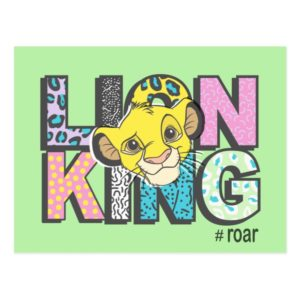 The Lion King | Simba #Roar Postcard