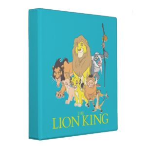 The Lion King | Title & Characters 3 Ring Binder