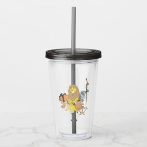 The Lion King | Title & Characters Acrylic Tumbler