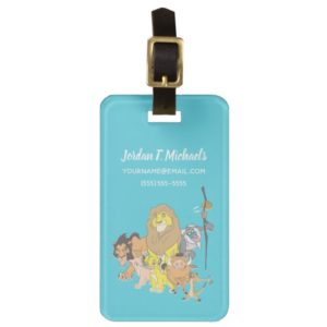 The Lion King | Title & Characters Bag Tag