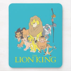 The Lion King | Title & Characters Mouse Pad