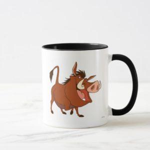 The Lion King's Pumba smiles Disney Mug
