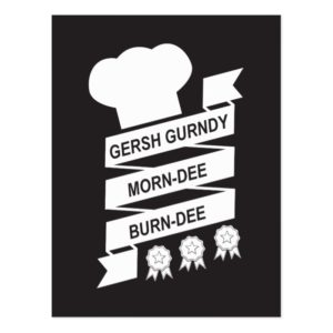 The Muppets | Gersh Gurndy Morn-Dee Burndee Postcard