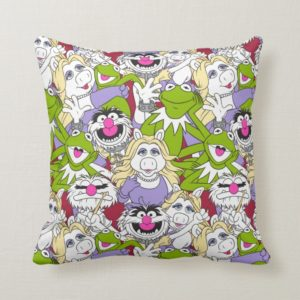 The Muppets | Oversized Pattern Throw Pillow