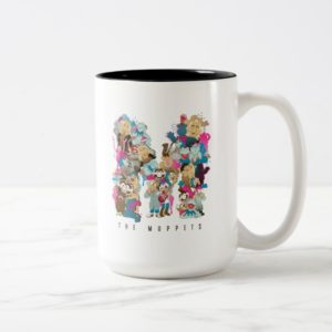 The Muppets | The Muppets Monogram 2 Two-Tone Coffee Mug