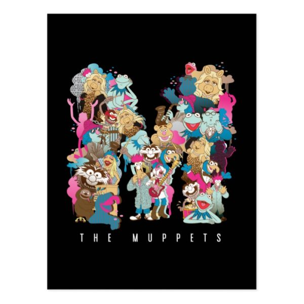 The Muppets | The Muppets Monogram Postcard