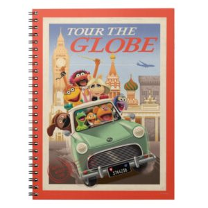 The Muppets Tour the Globe Notebook